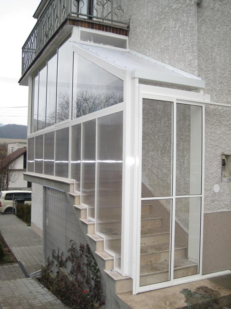 Zasklenie veranda zatisie pruzina pova sk bystrica zasklievanie balkono - Veranda profil systeme ...