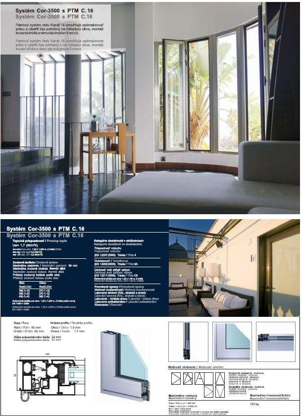 Pantové okná a dvere