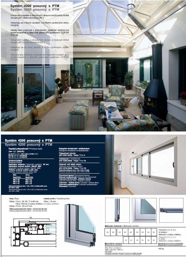 Posuvné okná a dvere